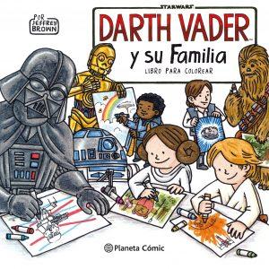 Libro para colorear de Darth Vader de Star Wars de 104 paginas Los mejores libros para colorear de Star Wars