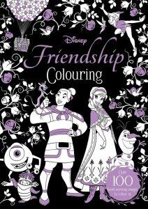 Libro Para Colorear De Disney Friendship De Disney De 100 Páginas – Los Mejores Libros Para Colorear De Disney Pixar