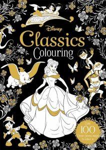 Libro Para Colorear De Disney Clásicos De Disney De 100 Páginas – Los Mejores Libros Para Colorear De Disney Pixar