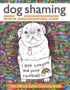 Libro Para Colorear De Dog Shaming De 71 Páginas – Los Mejores Libros Para Colorear De Perros Y Animales