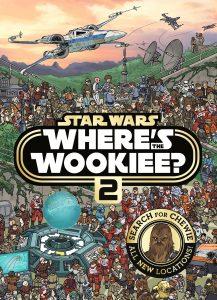 Libro para colorear de Donde esta el Wookiee Star Wars de 40 paginas 2 Los mejores libros para colorear de Star Wars