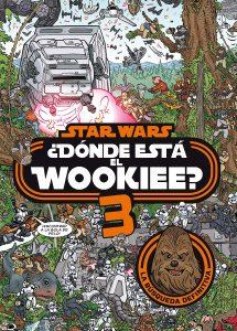 Libro para colorear de Donde esta el Wookiee Star Wars de 40 paginas Los mejores libros para colorear de Star Wars