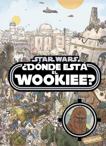 Libro para colorear de Donde esta el Wookiee Star Wars de 48 paginas Los mejores libros para colorear de Star Wars