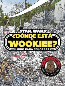 Libro para colorear de Donde esta el Wookiee Star Wars de 72 paginas Los mejores libros para colorear de Star Wars