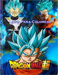 Libro para colorear de Dragon Ball Z de 100 paginas Los mejores libros para colorear de Dragon Ball Z