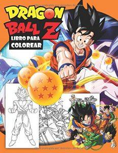 Libro para colorear de Dragon Ball Z de 52 paginas Los mejores libros para colorear de Dragon Ball Z