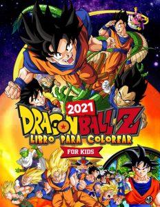 Libro para colorear de Dragon Ball Z de 62 paginas Los mejores libros para colorear de Dragon Ball Z