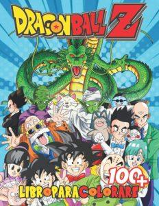 Libro para colorear de Dragon Ball Z de 72 paginas Los mejores libros para colorear de Dragon Ball Z