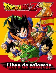 Libro para colorear de Dragon Ball Z de 92 paginas 2 Los mejores libros para colorear de Dragon Ball Z