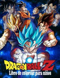Libro para colorear de Dragon Ball Z de 92 paginas 3 Los mejores libros para colorear de Dragon Ball Z