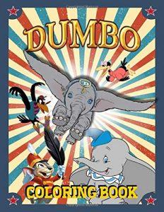 Libro Para Colorear De Dumbo De 100 Páginas – Los Mejores Libros Para Colorear De Dumbo De Disney