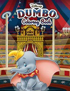Libro Para Colorear De Dumbo De 50 Páginas 2 – Los Mejores Libros Para Colorear De Dumbo De Disney