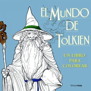 Libro para colorear de El mundo de Tolkien de 96 paginas Los mejores libros para colorear del senor de los anillos