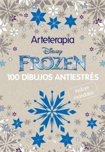 Libro para colorear de Frozen de 100 paginas Los mejores libros para colorear de Frozen de Disney