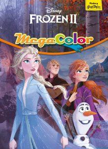 Libro para colorear de Frozen de 128 paginas Los mejores libros para colorear de Frozen de Disney