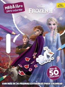 Libro para colorear de Frozen de 30 paginas Los mejores libros para colorear de Frozen de Disney
