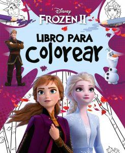Libro para colorear de Frozen de 72 paginas Los mejores libros para colorear de Frozen de Disney