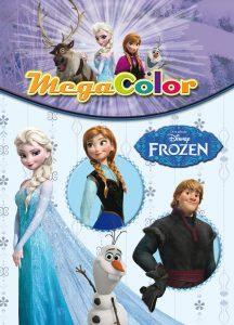 Libro para colorear de Frozen de MEga color Los mejores libros para colorear de Frozen de Disney