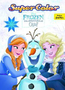 Libro para colorear de Frozen una aventura de olaf de 36 paginas Los mejores libros para colorear de Frozen de Disney