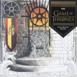 Libro para colorear de Game of Thrones de 60 paginas Los mejores libros para colorear de Juego de Tronos