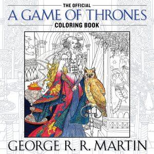 Libro para colorear de Game of Thrones de 96 paginas Los mejores libros para colorear de Juego de Tronos