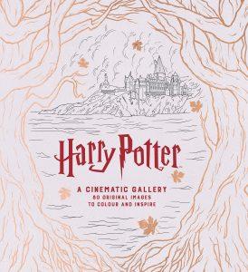 Libro para colorear de Harry Potter A Cinematic Gallery Los mejores libros para colorear de Harry Potter