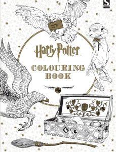 Libro para colorear de Harry Potter Colouring Book 96 paginas Los mejores libros para colorear de Harry Potter
