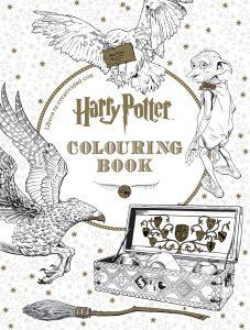 Libro para colorear de Harry Potter Colouring Book 96 paginas Los mejores libros para colorear de Harry Potter espanol