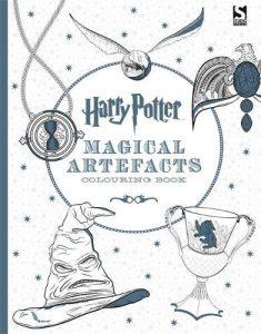 Libro para colorear de Harry Potter artefactos magicos de 96 paginas Los mejores libros para colorear de Harry Potter