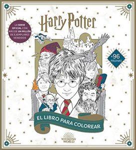 Libro para colorear de Harry Potter de 100 paginas Los mejores libros para colorear de Harry Potter