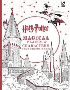 Libro para colorear de Harry Potter lugares de 80 paginas Los mejores libros para colorear de Harry Potter