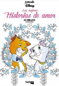 Libro Para Colorear De Historia De Amor De Disney De 60 Páginas – Los Mejores Libros Para Colorear De Disney Pixar