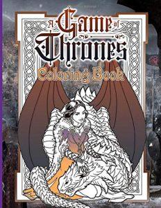 Libro para colorear de Juego de Tronos de 100 paginas 2 Los mejores libros para colorear de Juego de Tronos Game of Thrones