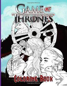 Libro para colorear de Juego de Tronos de 100 paginas 3 Los mejores libros para colorear de Juego de Tronos Game of Thrones