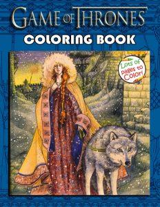 Libro para colorear de Juego de Tronos de 100 paginas Los mejores libros para colorear de Juego de Tronos Game of Thrones
