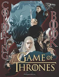 Libro para colorear de Juego de Tronos de 106 paginas 2 Los mejores libros para colorear de Juego de Tronos Game of Thrones