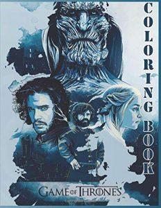 Libro para colorear de Juego de Tronos de 106 paginas Los mejores libros para colorear de Juego de Tronos Game of Thrones