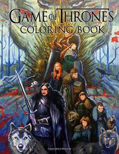 Libro para colorear de Juego de Tronos de 110 paginas Los mejores libros para colorear de Juego de Tronos Game of Thrones