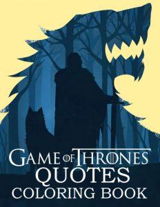 Libro para colorear de Juego de Tronos de 66 paginas Los mejores libros para colorear de Juego de Tronos Game of Thrones