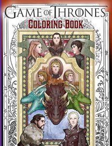 Libro para colorear de Juego de tronos de 100 paginas Los mejores libros para colorear de Juego de Tronos