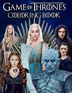 Libro para colorear de Juego de tronos de 56 paginas Los mejores libros para colorear de Juego de Tronos