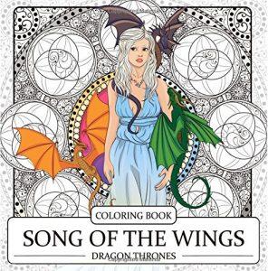 Libro para colorear de Juego de tronos de 64 paginas Los mejores libros para colorear de Juego de Tronos