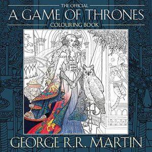 Libro para colorear de Juego de tronos de 96 paginas 2 Los mejores libros para colorear de Juego de Tronos