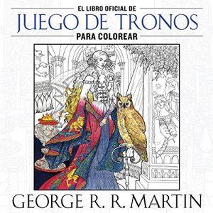 Libro para colorear de Juego de tronos de 96 paginas Los mejores libros para colorear de Juego de Tronos
