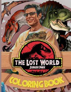 Libro Para Colorear De Jurassic Park De 60 Páginas - Los Mejores Libros Para Colorear De Dinosaurios De Jurassic World Y Jurasssic Park