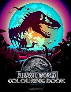 Libro Para Colorear De Jurassic World De 100 Páginas 2 – Los Mejores Libros Para Colorear De Dinosaurios De Jurassic World Y Jurasssic Park