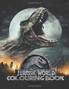 Libro Para Colorear De Jurassic World De 100 Páginas 3 - Los Mejores Libros Para Colorear De Dinosaurios De Jurassic World Y Jurasssic Park