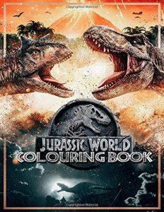 Libro Para Colorear De Jurassic World De 100 Páginas – Los Mejores Libros Para Colorear De Dinosaurios De Jurassic World Y Jurasssic Park