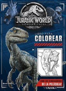 Libro Para Colorear De Jurassic World De 48 Páginas – Los Mejores Libros Para Colorear De Dinosaurios De Jurassic World Y Jurasssic Park