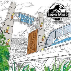 Libro Para Colorear De Jurassic World De 96 Páginas 2 – Los Mejores Libros Para Colorear De Dinosaurios De Jurassic World Y Jurasssic Park